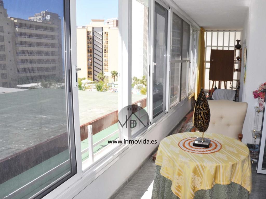 balcon terraza piso apartamento en benidorm