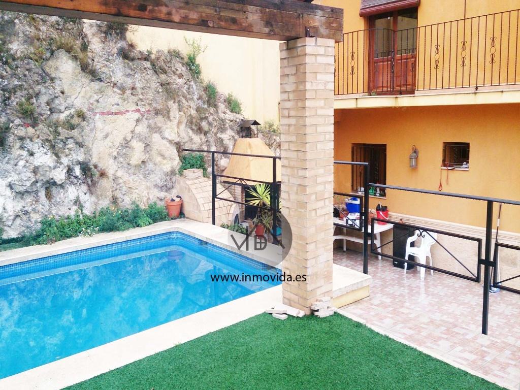 casa en xativa casco antiguo en venta piscina