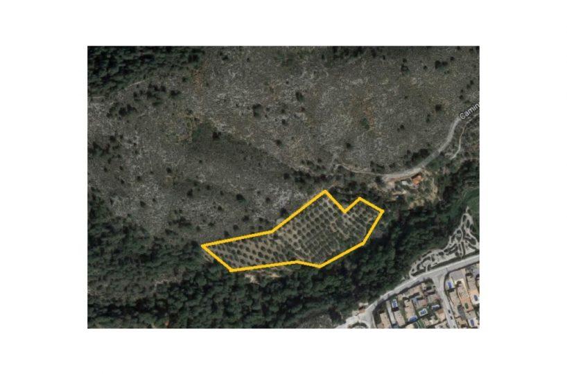 Se vende terreno en Xativa en la zona de Bixquert