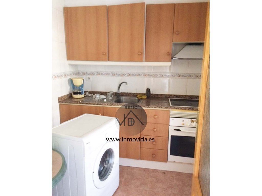 cocina piso amueblado en alcudia de crespins inmobiliaria inmovida