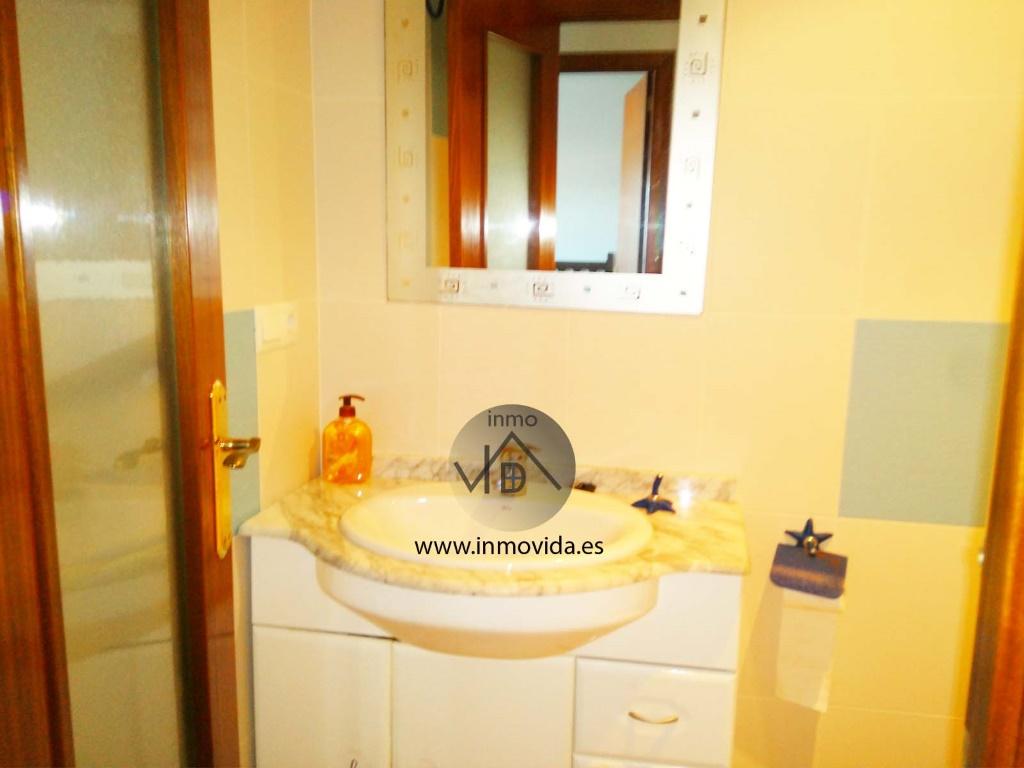 baño apartamento playa de sueca primera linea