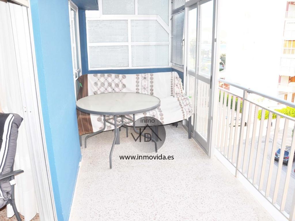 balcon apartamento en cullera segunda linea de playa mar