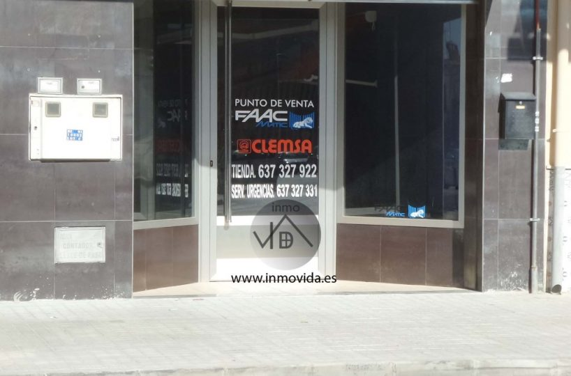 local comercial alquiler alcudia crespins