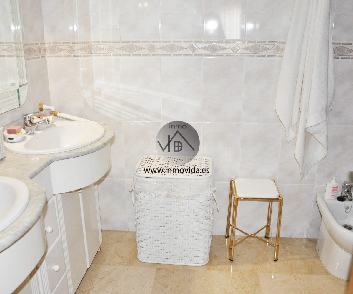 Baño venta de piso en Xátiva Inmobiliaria Inmovida