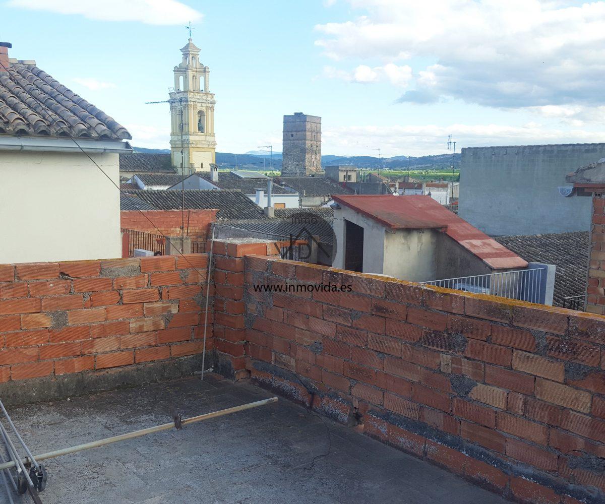 Terraza casa en venta en Antella
