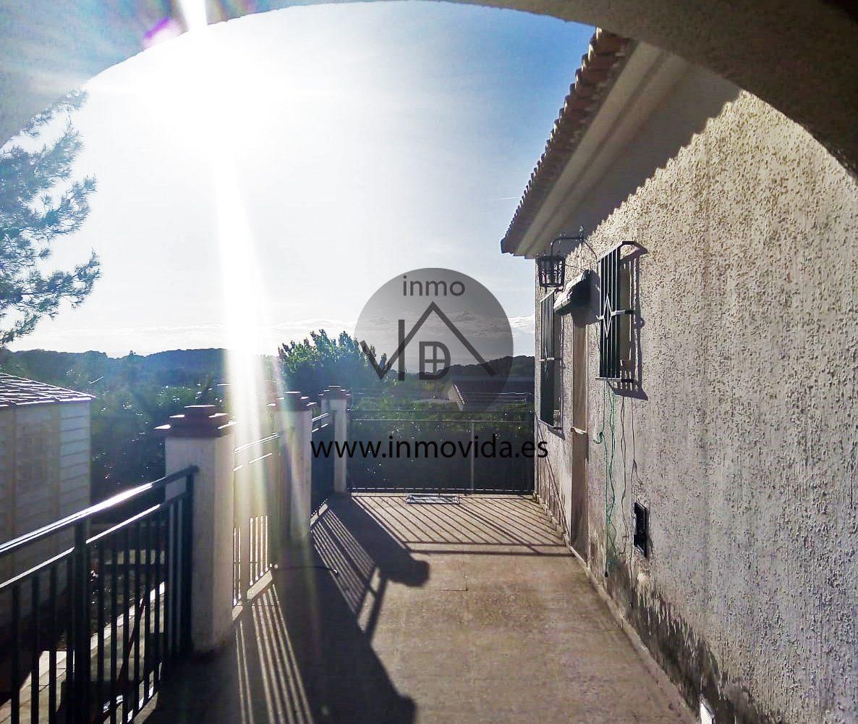 Terraza chalet en venta en Pla de Corrals