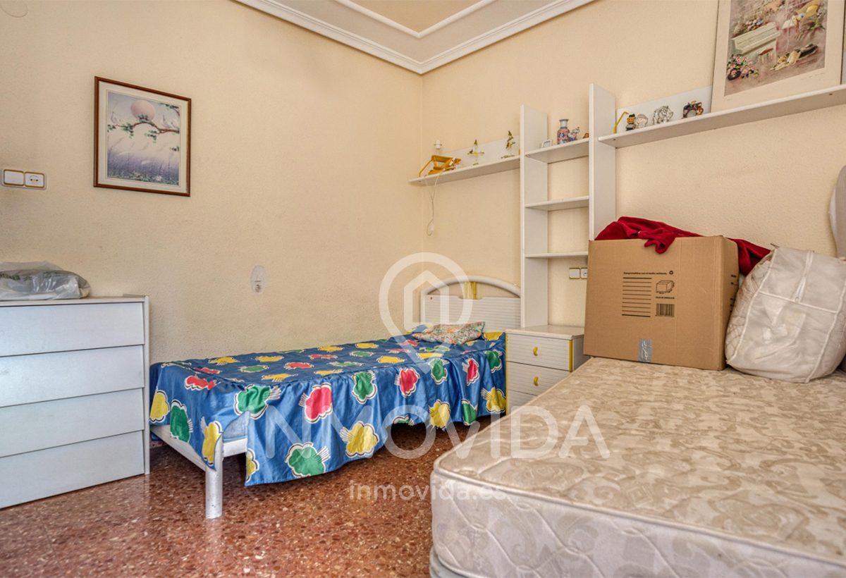 Dormitorio piso centro de Xátiva Inmovida
