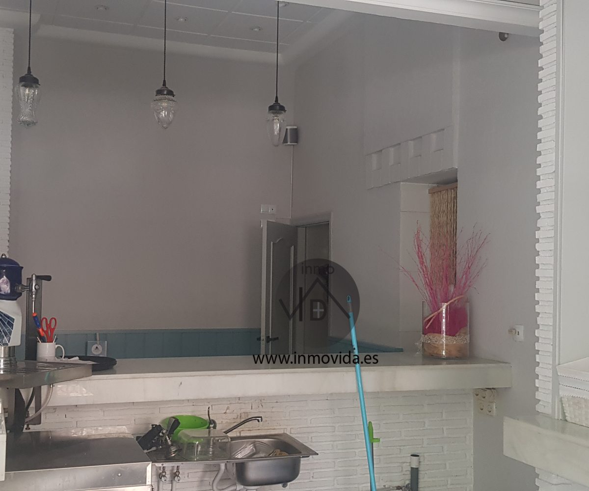 barra cocina inmovida