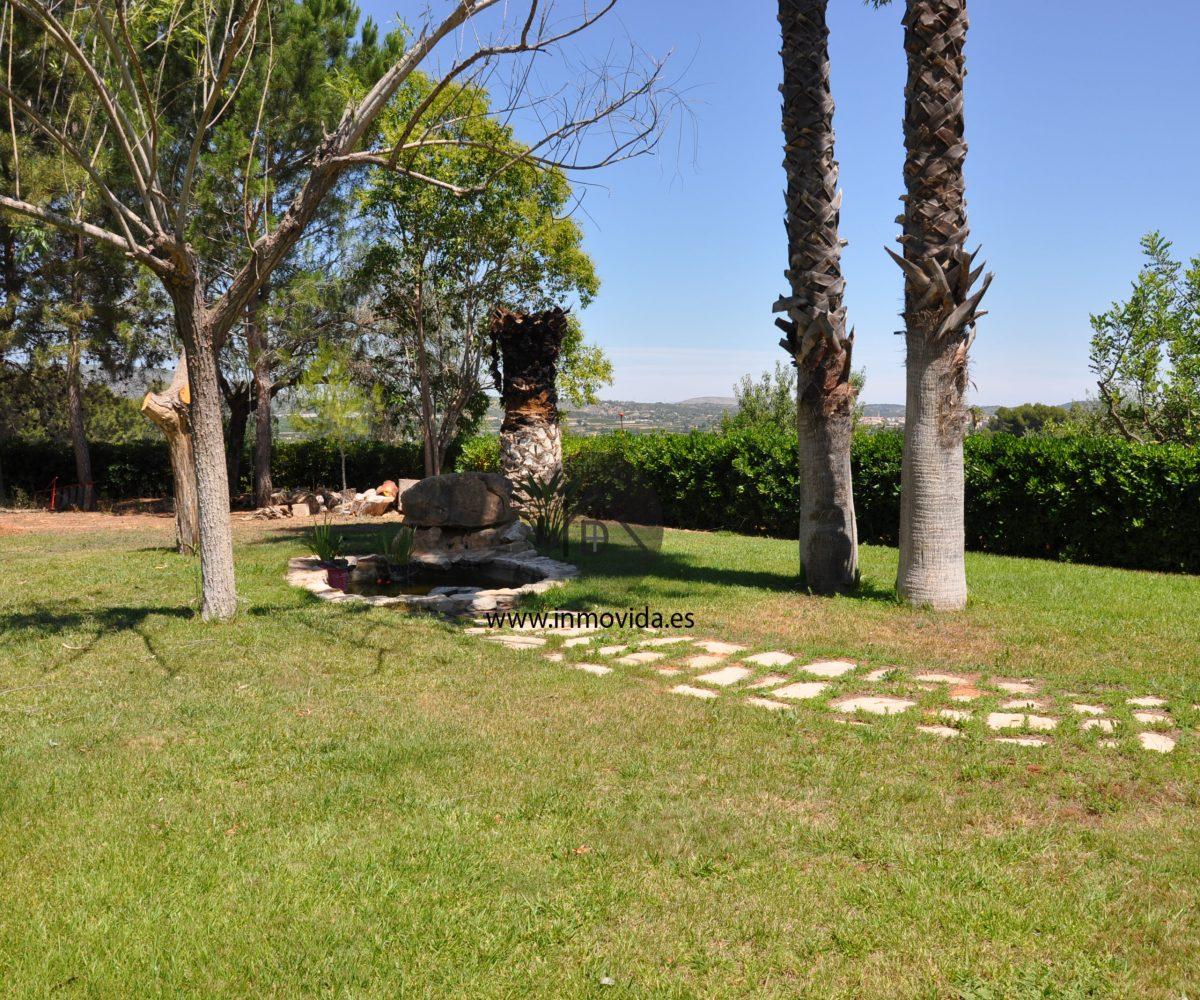 jardin chalet la quintana canals