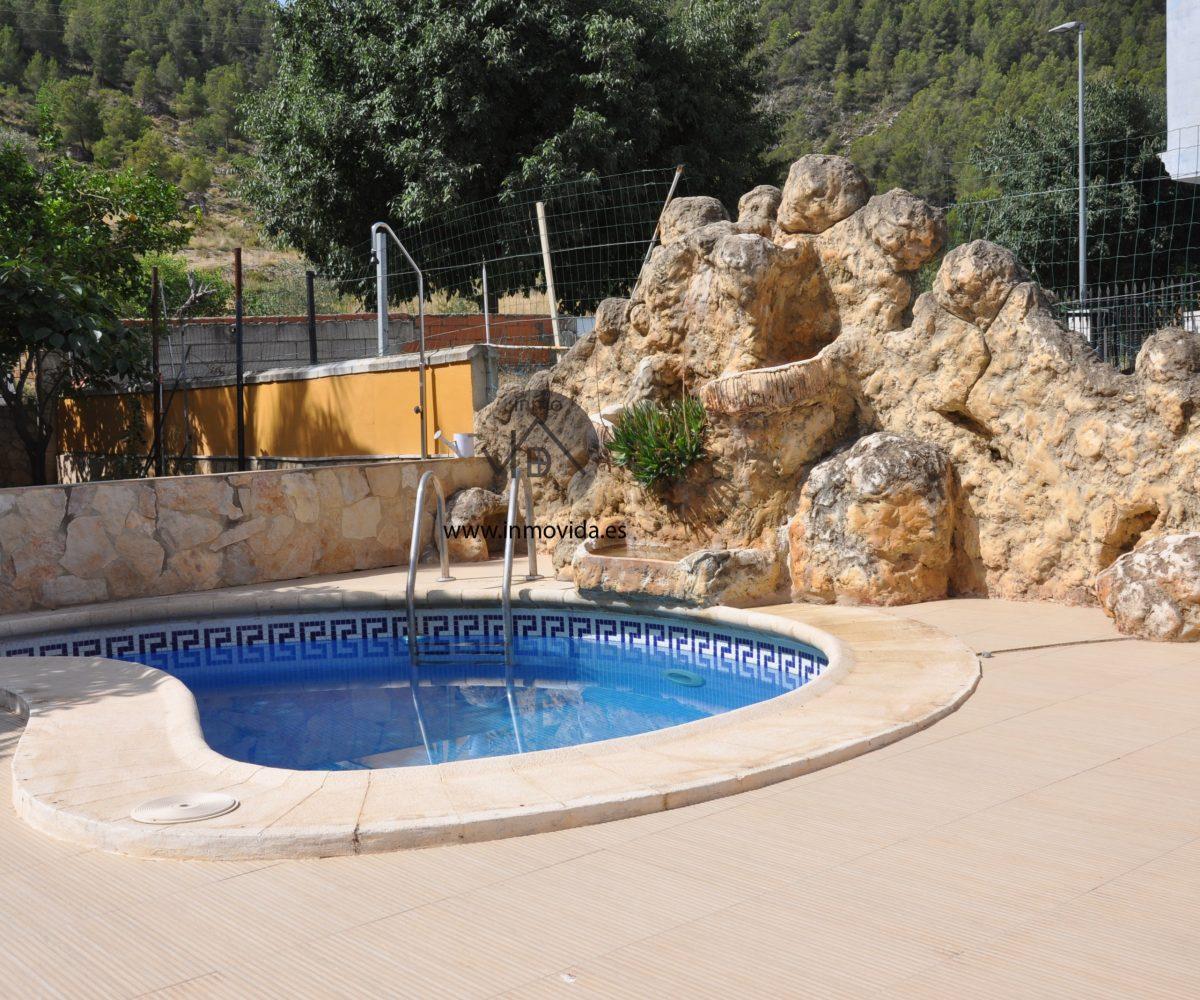 piscina casa xativa inmovida